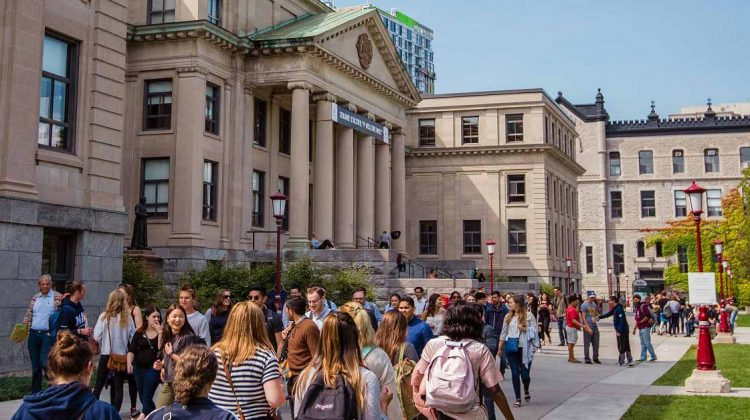 شروط القبول في الجامعات الكندية